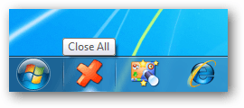 Agrega CloseAll a tu barra de tareas