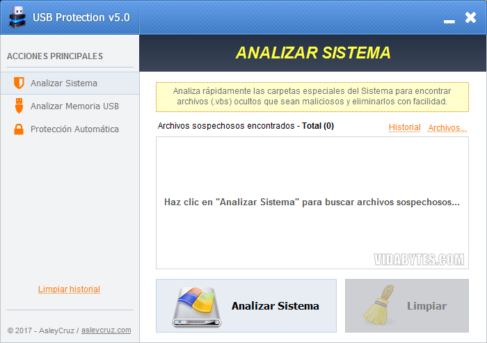 Analizar Sistema