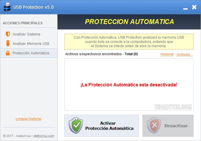 Protección Automática