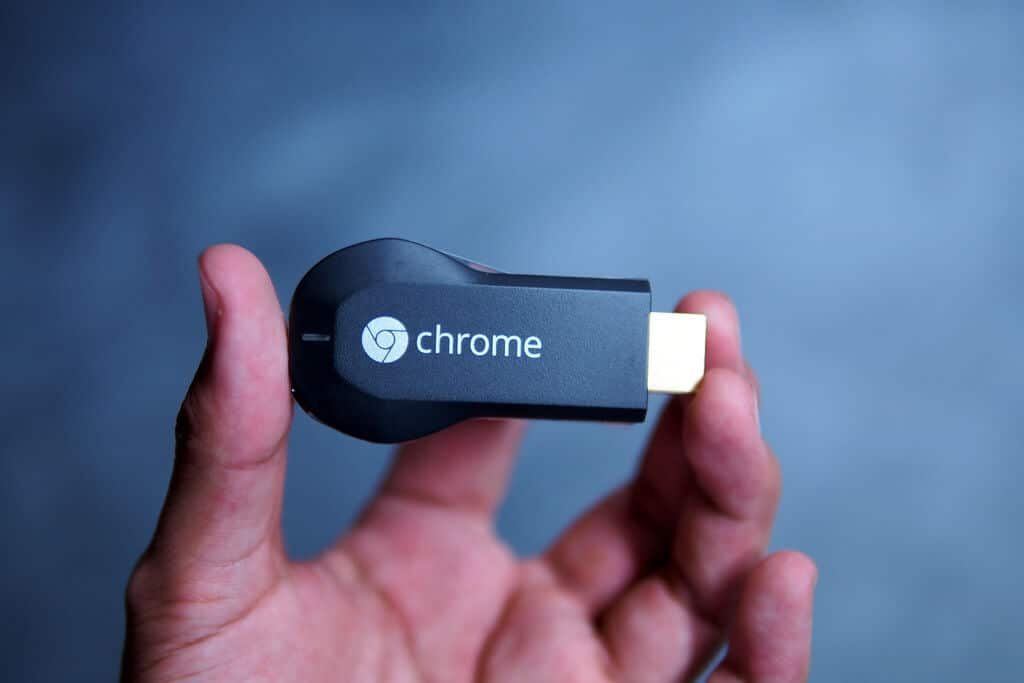 Chromecast dispositivo