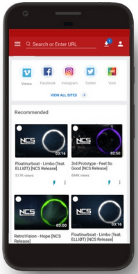 Videoder para celulares Android