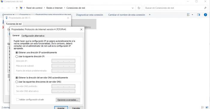protocolo internet version 4