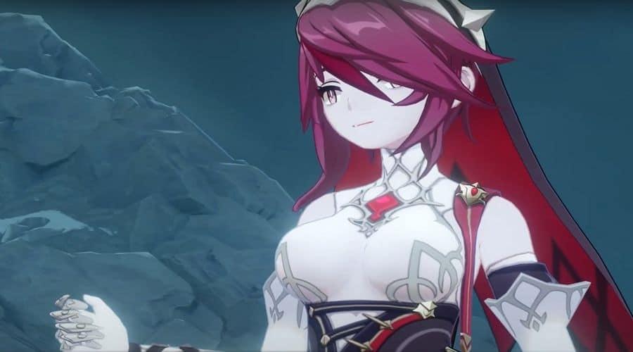 Genshin Impact - Mejora de las habilidades de Rosaria